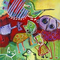 Colourfull Mars Men VII Fine Art Print