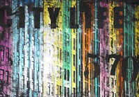 City Life Fine Art Print