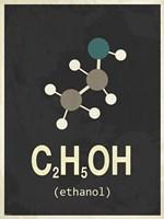 Molecule Ethanol Fine Art Print