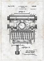 Typewriter Fine Art Print