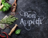 Bon App?tit Herbs and Spices Fine Art Print
