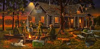 Campfire Tales Fine Art Print