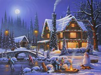 Holiday Spirit Fine Art Print