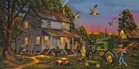 Playtime On The Farm Fine Art Print