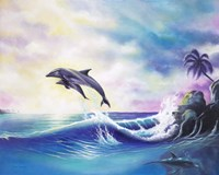 Dolphins Fine Art Print