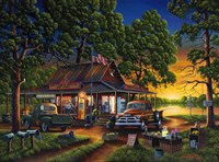 Jose's Country Store Fine Art Print