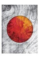 Marble Mars Fine Art Print
