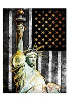 Statue Of Real America Fine Art Print