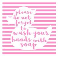 Hand Washing Fine Art Print