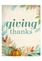 Giving Thanks Fine Art Print