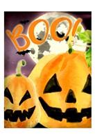 Boo Pumpkins Fine Art Print