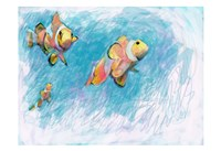 Clowfish Trio Fine Art Print