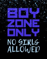 Boy Zone-Sparkle Fine Art Print