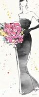 Floral Fashion III Fine Art Print