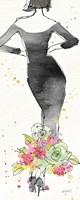 Floral Fashion I Fine Art Print
