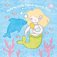 Magical Mermaid IV Fine Art Print