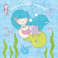 Magical Mermaid II Fine Art Print