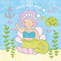 Magical Mermaid III Fine Art Print