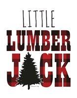 Little Lumberjack Fine Art Print
