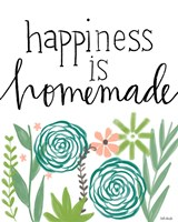 Happiness is Homemade Fine Art Print