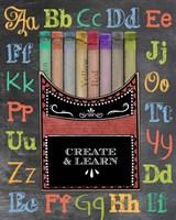 Crayons Fine Art Print