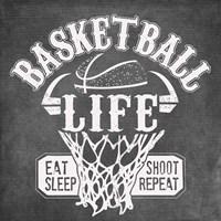 Basketball Life Fine Art Print