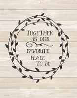 Together is Our Fine Art Print