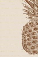 Right Side Pineapple Fine Art Print