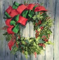 Holiday Wreath Fine Art Print