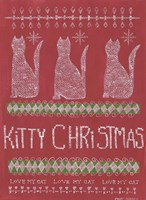 Kitty Christmas Fine Art Print