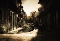 Mystic Morning In Havana Fine Art Print