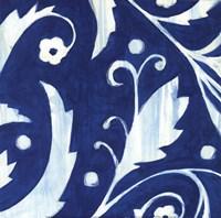 Tangled In Blue I Fine Art Print