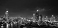 Bangkok Lightning Fine Art Print