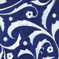 Tangled In Blue III Fine Art Print