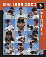 San Francisco Giants 2017 Team Composite Fine Art Print