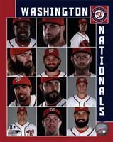 Washington Nationals 2017 Team Composite Framed Print