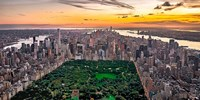 New York & Central Park Fine Art Print