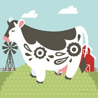 Little Farm IV Fine Art Print