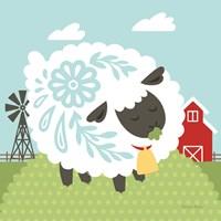 Little Farm I Fine Art Print