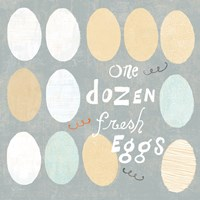 Fresh Eggs IV Fine Art Print