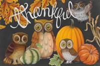 Harvest Owl III Fine Art Print