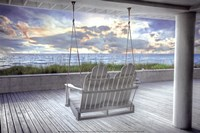 Swing At The Beach Fine Art Print