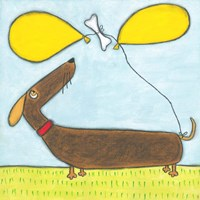 Super Animal - Dachshund Fine Art Print