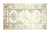 Gold Foil Ceiling Design Fine Art Print