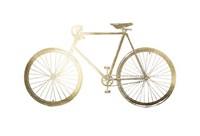 Gold Foil Bicycle Fine Art Print