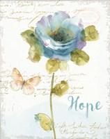 Rainbow Seeds Floral VII Hope Fine Art Print