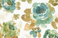 My Greenhouse Roses I Fine Art Print