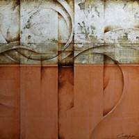 Mozart Orange Fine Art Print