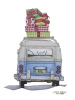 Christmas Van Fine Art Print