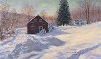 From My Studio In Winter Fine Art Print